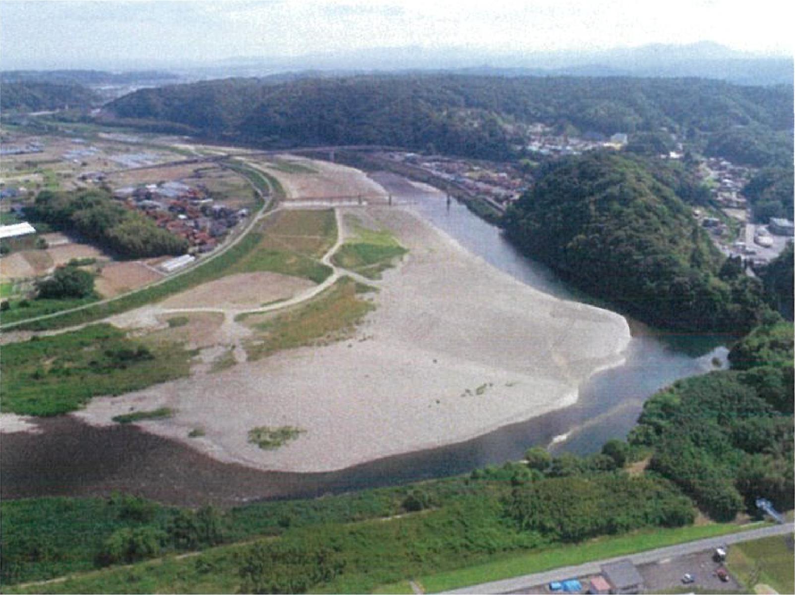 高津川高津地区河床整備第2工事
