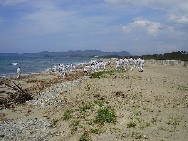 平成23年6月24日 海岸清掃