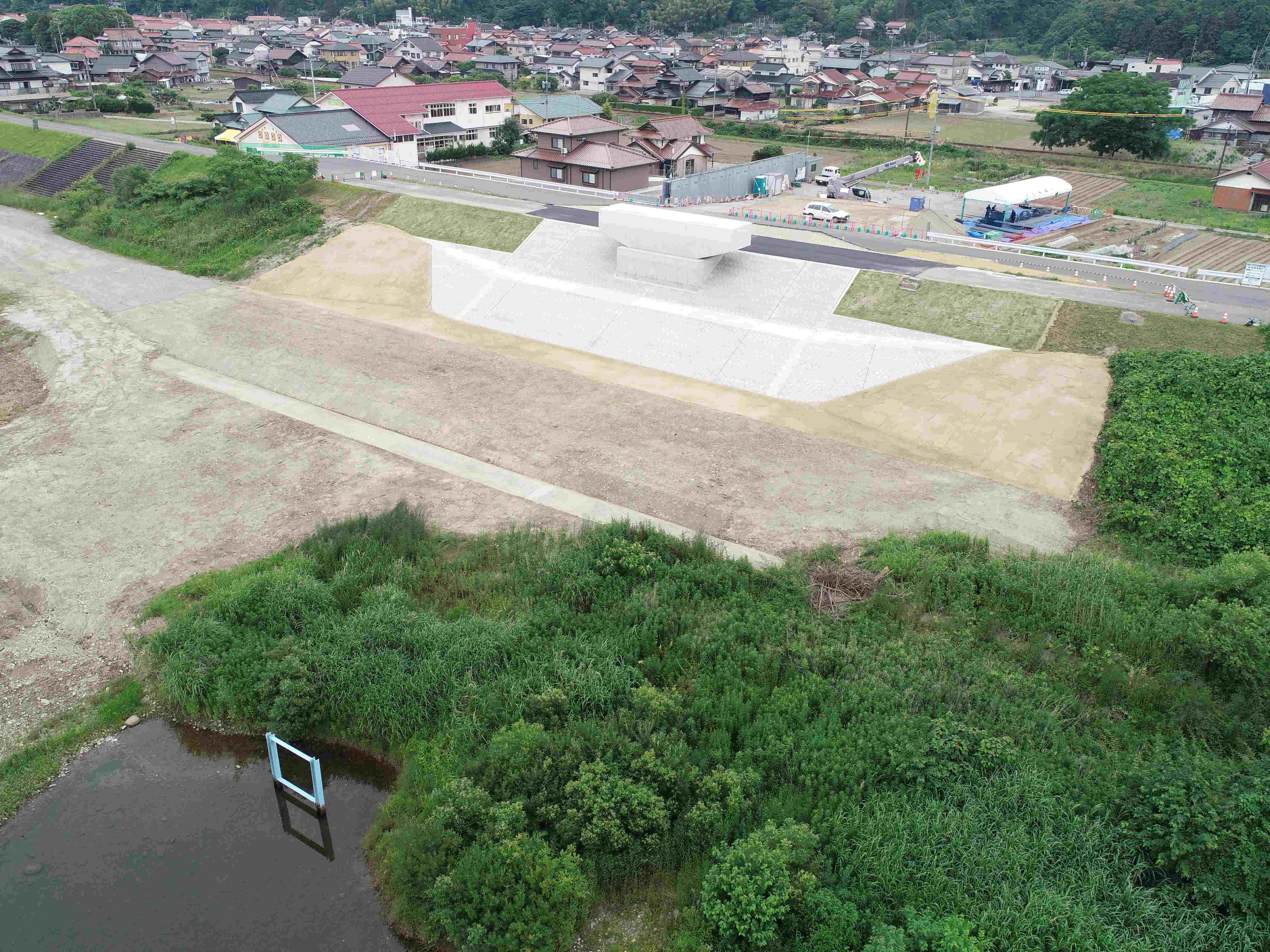 元町人磨線防災安全交付金(街路)橋梁下部第4期工事